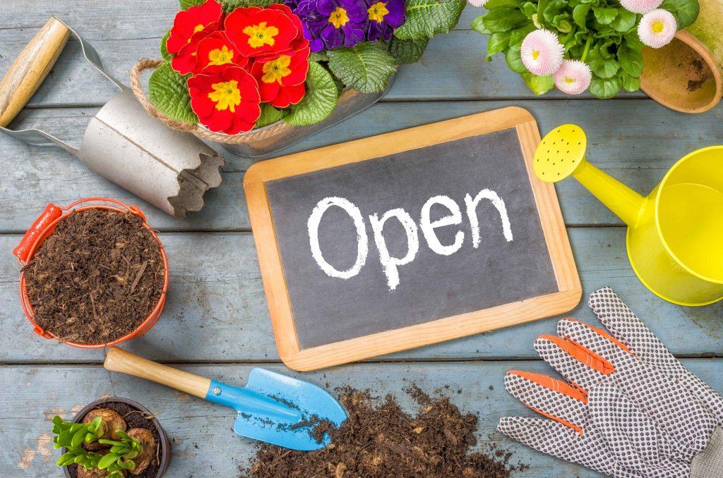 garden centre open